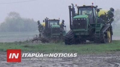ANSIADA LLUVIA LLEGÓ A TODO ITAPÚA Y PRÁCTICAMENTE A TODO EL PAÍS