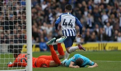 Tottenham es goleado por el Brighton