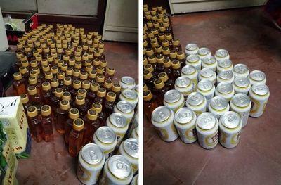 Guardiacárceles permitieron ingreso de bebidas alcohólicas al Penal de Tacumbú