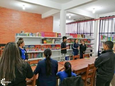 Fortalecen bibliotecas públicas en nuevo departamentos