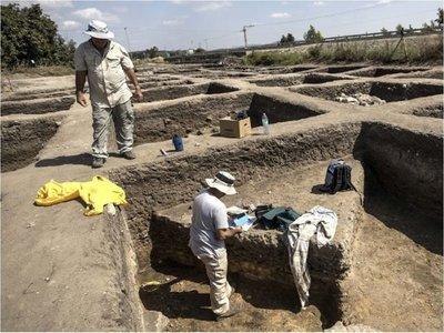 Hallan una gran ciudad de la Edad de Bronce en Israel