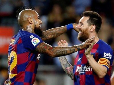 Barcelona condena al Sevilla en ocho minutos y se sitúa segundo