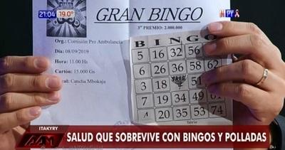 Hacen bingo para solventar reparación de ambulancia