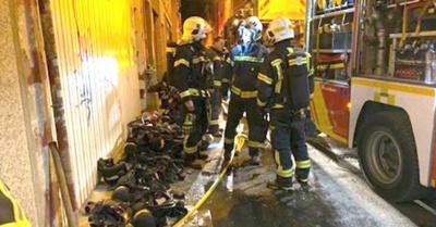 Paraguayo muere en  incendio en Madrid
