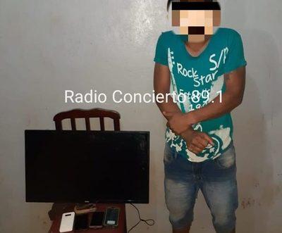 Detienen a joven y recuperan objetos robados en Naranjal