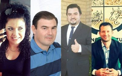 Cuatro concejales liberales de Minga Guazú, cómplices del intendente Digno Caballero