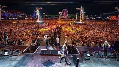 Iron Maiden satisface un público que esperó 4 años por metal en Rock in Río