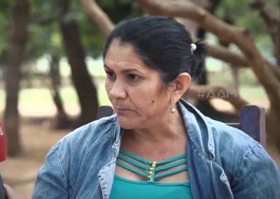 Doña Obdulia Florenciano asegura que recibió amenazas de muerte