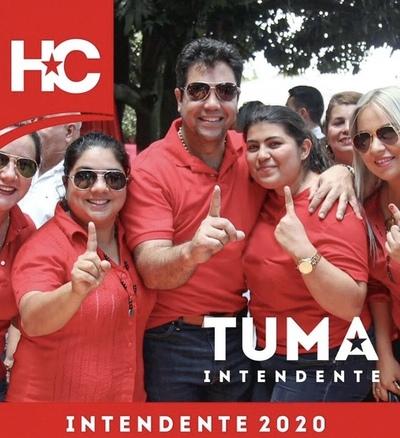 El abogado de narcos Oscar Tuma lanza candidatura a intendente de Asunción