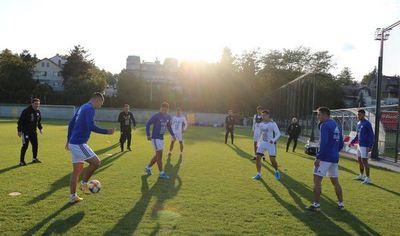 Primera práctica en Belgrado