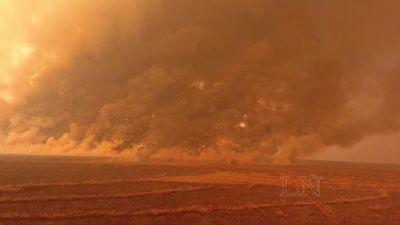Reportan cero focos de incendios en el territorio paraguayo