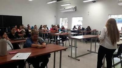 Ciudad Mujer continúa con el ciclo de talleres de educación