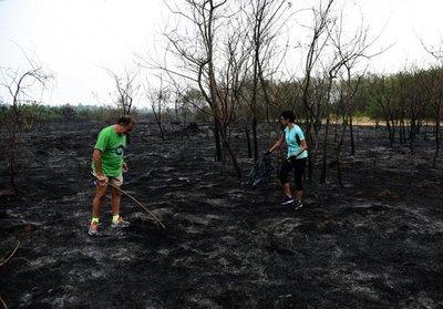 Iniciativa ambientalista de funcionarios de la SET busca reforestar Parque Guasu