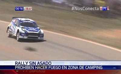 Amenazan con cárcel para los que hagan fuego durante el rally del Chaco