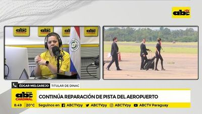 Aeropuerto: Reparación de pista no afecta a interconexiones, según presidente de Dinac
