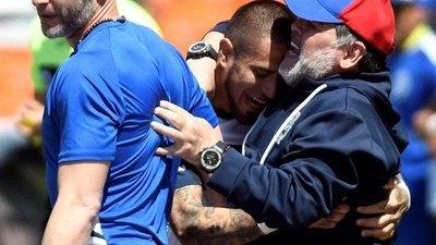 Ayala, un 'privilegiado' con Maradona