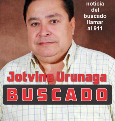 Jotvino Urunaga Buscado por la Policía
