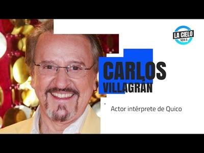 Carlos Villagrán puso en duda la fecha de muerte de Roberto Gómez Bolaños