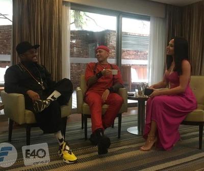 Los Black Eyed Peas en exclusiva con Telefuturo