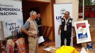 Bomberos de Horqueta reciben donación