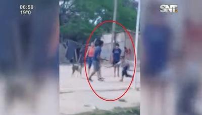 Violento cruce a machetazos en refugio