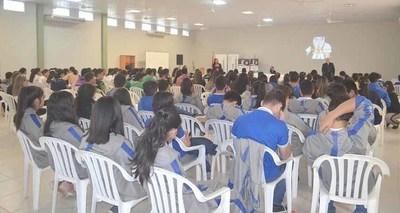 Realizaron charla educativa en Caazapá