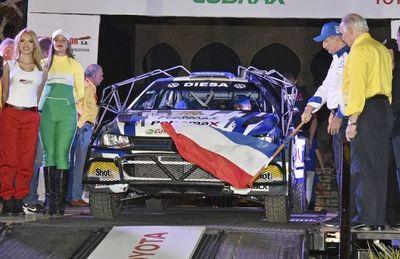 Partida a la pasión del Transchaco Rally