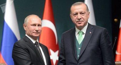 Erdogan discute con Putin la operación que Turquía planea lanzar en Siria