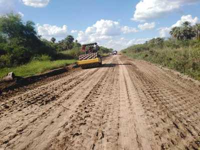 Corredor bioceánico: inició la reparación de 120 km del tramo