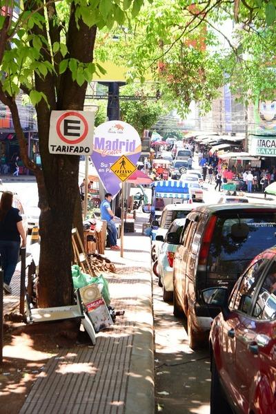 Estacionamiento tarifado será tercerizado en Ciudad del Este