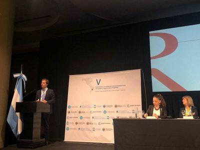 Directora de Registros Públicos participa de conferencia internacional