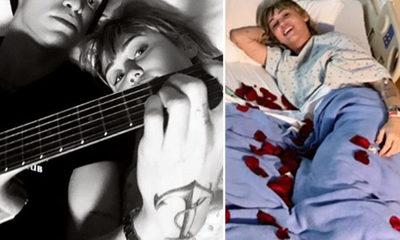 Miley Cyrus recibe la visita de Cody Simpson luego de ser hospitalizada