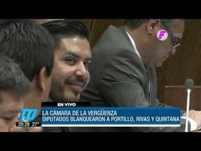 Diputados salvan a Portillo, Rivas y Quintana