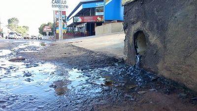 Tirar agua servida a la calle tiene una multa de G. 1.600.000