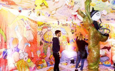 """Talleres de artes plásticas  en la muestra """"60 Mundos"""""""