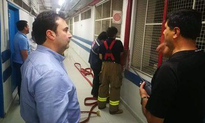 Controlan principio de incendio en IPS