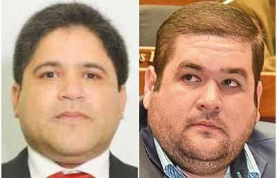 """Rojas y Urbieta """"salvan"""" a los diputados Portillo, Rivas y Quintana"""