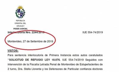 """HOY / Jueza defiende refugio a Arrom, Martí y Colmán: """"Hay pruebas confidenciales"""""""