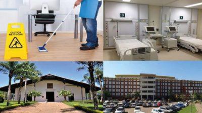 Multimillonario contrato para servicios de limpieza