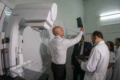 Hospital de Barrio Obrero activa funcionamiento de nuevo mamógrafo digital