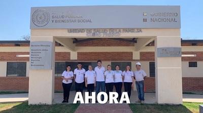 Remozan cinco unidades de salud familiar en Concepción