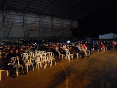 SNC proyectó cine nacional en localidades del interior del país