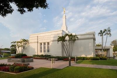 Inédita apertura de conocido templo Mormón