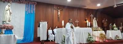 Programan actividades por festividad de Virgen de Fátima en Franco
