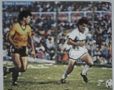 Olimpia revive la final de la Copa Libertadores 1990