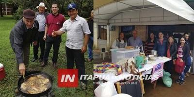 CAP. MIRANDA: EXITOSA COMILONA COCINANDO POR SALUD