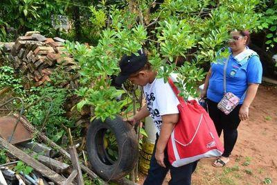 Lanzan campaña contra dengue en Villa Elisa