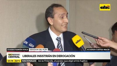 Yacyretá: Liberales insistirán en derogación de acuerdo Cartes-Macri