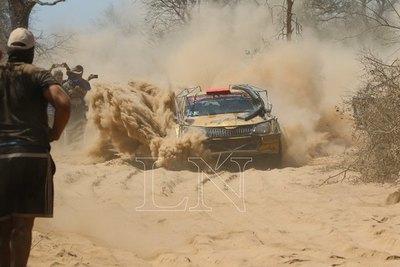Arranque incidentado del Transchaco Rally