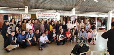 Técnicos del MEC participaron del 3er encuentro en Hernandarias